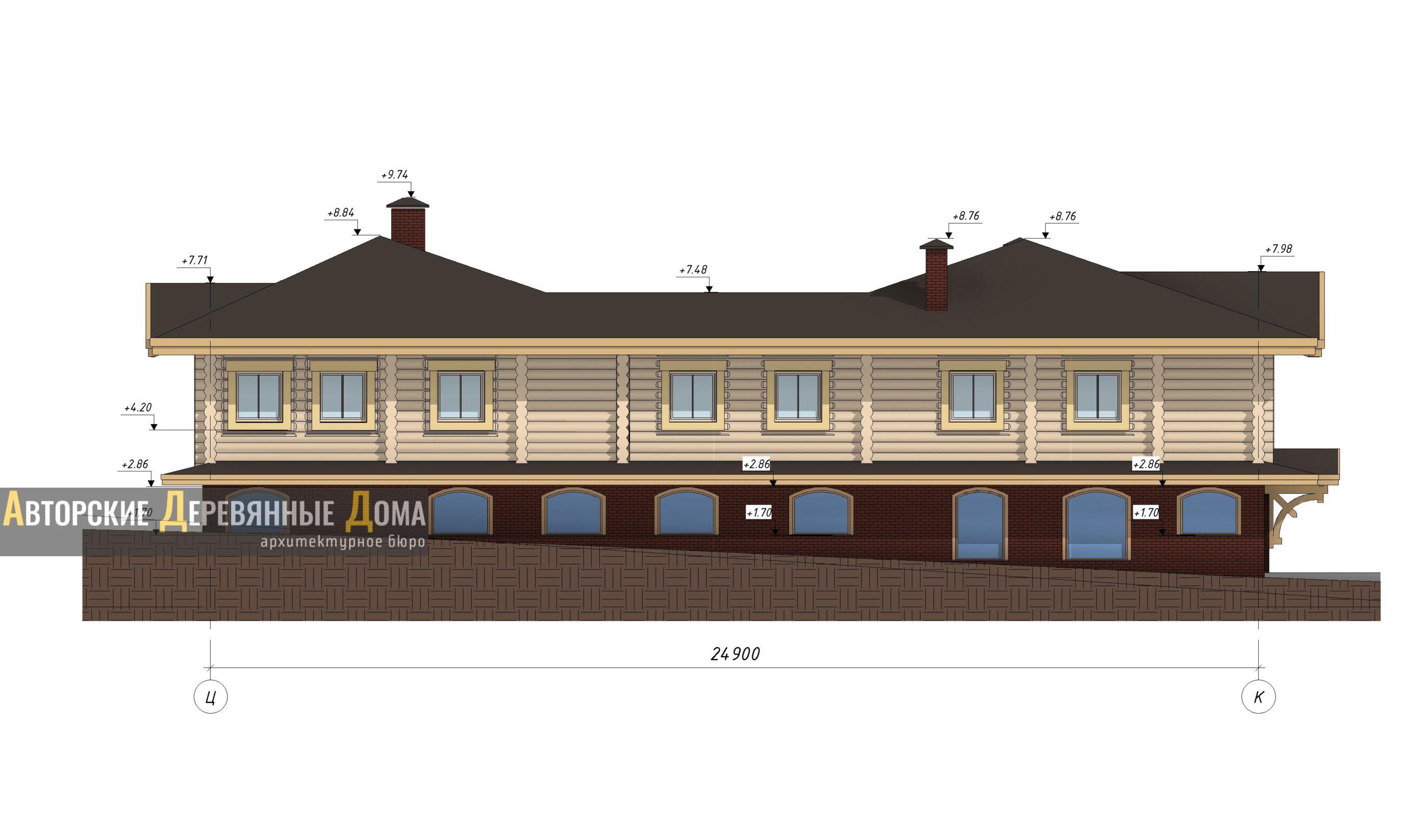 проект строительства центра реабилитации. Фасад 5